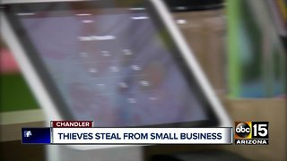 Thieves target Chandler pottery shop, steal store register