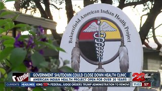 Government shutdown impacts local American Indian health clinic