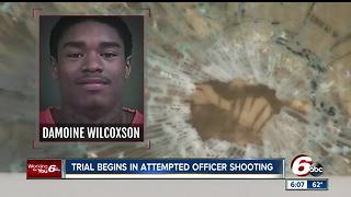 Trial begins for man accused in IMPD HQ shootings - Video