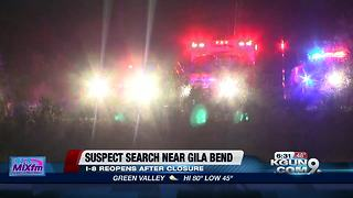 search for suspect Gila Bend - Video