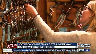 Cowboy Christmas kicks off today - Video