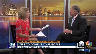 Tips on achieving your goals - Video