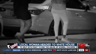 Bakersfield woman headed to White House to help fight abuse of women, children