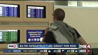 Southwest Florida International Airport (RSW) gets $2.7 million dollar infrastructure grant