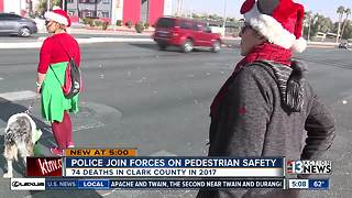 Effort to prevent pedestrian deaths - Video