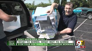9 On Your Side Shred Day Saturday: What to know - Video