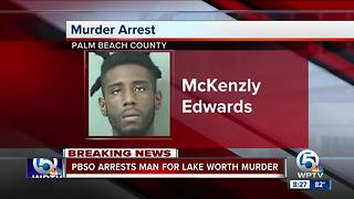 Suspect arrested in Lake Worth homicide - Video