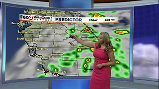 Rain Today, Cooler Conditions on the Way - Video