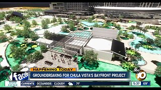 Crews breaking ground on parts of Chula Vista Bayfront Master Plan
