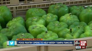 Feeding Tampa Bay, Trinity Cafe open new free produce pantry in Tampa