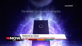 Replaced by Robots: Featured robots at the Consumer Electronics show. - Video