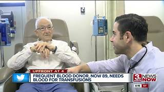 Council Bluffs blood donor now needs transfusions - Video