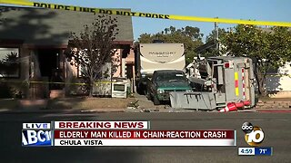 Pedestrian killed in Chula Vista crash
