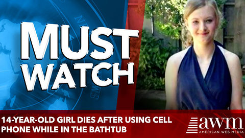 14-Year-Old Girl Dies After Using Cell Phone While in the Bathtub