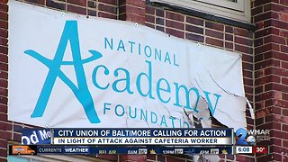 Another Baltimore school staffer is assaulted - Video
