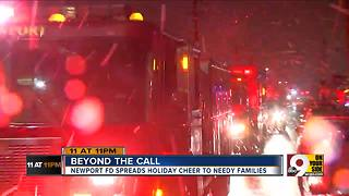 Firefighters go beyond the call for Christmas