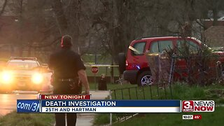 Death investigation at 25th and Hartman Ave