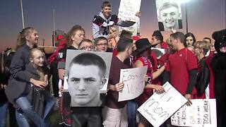 Knightstown students show up for Friday Football Frenzy - Video