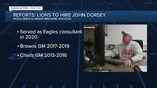 Reports: Lions to hire former Browns, Chiefs GM John Dorsey