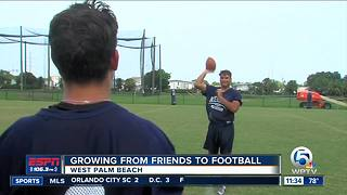 Childhood Friends Become College Teammates