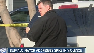 Mayor Brown responds to 'spike in violence' in Buffalo - Video