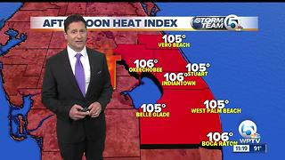 South Florida Tuesday afternoon forecast (7/25/17) - Video