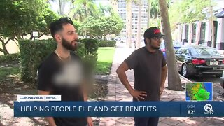 West Palm Beach DJ helping others file for unemployment