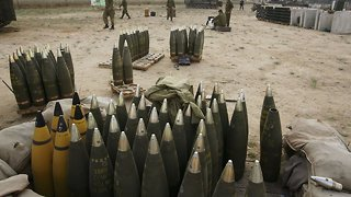 Israeli Missiles Reportedly Hit Iranian Weapons In Syria - Video