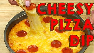 Cheesy pepperoni pizza dip recipe - Video