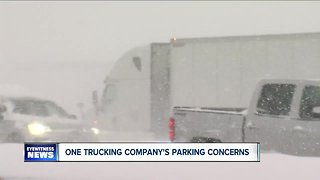 Trucking company's parking concerns