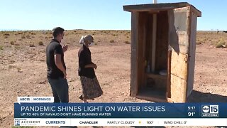 Pandemic shines light on water access issues on Navajo Nation