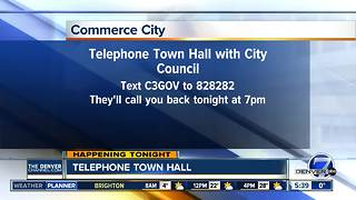 Telephone town hall for Commerce City residents