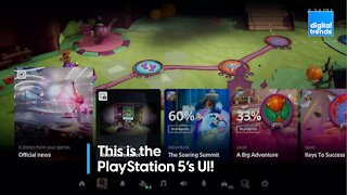 This is the PS5's UI!