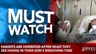 Parents Are Horrified After what they see hiding in their son's breathing tube - Video