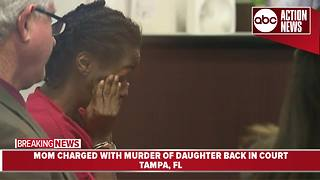 Mom accused of drowning daughter in Hillsborough River will stay in jail until trial - Video
