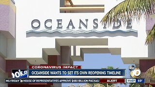 Oceanside wants to set its own reopening timeline
