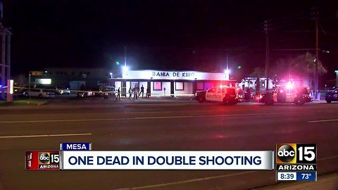 Person dies after being shot in Mesa