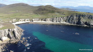 The Wild Atlantic Way: Ireland's spectacular coastal route captured by drone