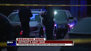 Officer-involved shooting investigation in Detroit