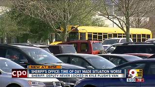 Sheriff: Deputy never looked in Kyle Plush's van