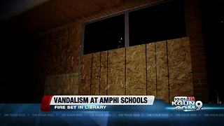 Multiple Amphitheater schools vandalized - Video
