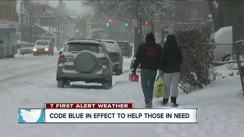 City of Buffalo opens warming centers during storm