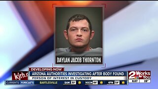 Arizona authorities investigation after body found