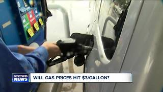 Gas prices could hit $3/gallon - Video