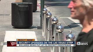 700 steel posts will be added to Las Vegas Strip