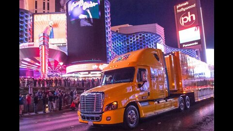 Hauler parade on Las Vegas Boulevard has been canceled