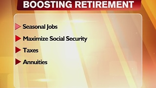 Boost Your Retirement 12/1/16 - Video
