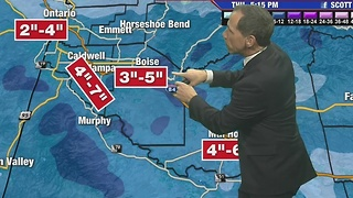 Another Valley Snowstorm Wednesday - Video