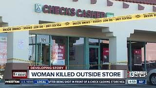 UPDATE: Police searching for suspects after female employee is fatally shot at  check cashing store - Video