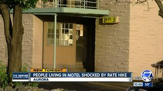 Residents fight eviction at Aurora motel - Video
